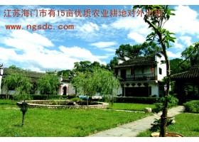 江苏海门市有15亩优质农业耕地对外出租