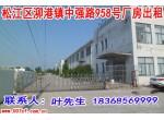 松江区泖港标准厂房及空地出租