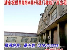 浦东新区祝桥镇独门独院厂房出租