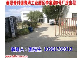 奉贤区青村镇标准单层带行车厂房出租